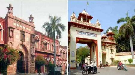 amu, bhu, amu controversy, bhu controversy, aligarh muslim university, banaras hindu university, remove 'm' from amu, remove 'h' from bhu, ugc, university grants commission, bhu violence, bhu protests, bhu lathicharge, uttar pradesh, amu vice-chancellor, indian express, education news, prakash javadekar, hrd minister prakash javadekar, renaming amu, renaming amu, Indian express, ieExplained