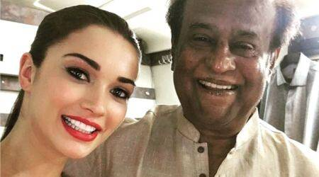 A new poster from Rajinikanth's 2.0 is out and it confirms Amy Jackson's role in thefilm