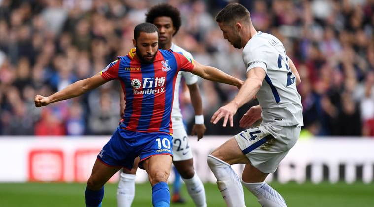Andros Townsend, Crystal Palace, Andros Townsend Crystal Palace, Newcastle United, sports news, football, Indian Express