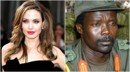 Angelina Jolie offered to help capture warlord Joseph Kony