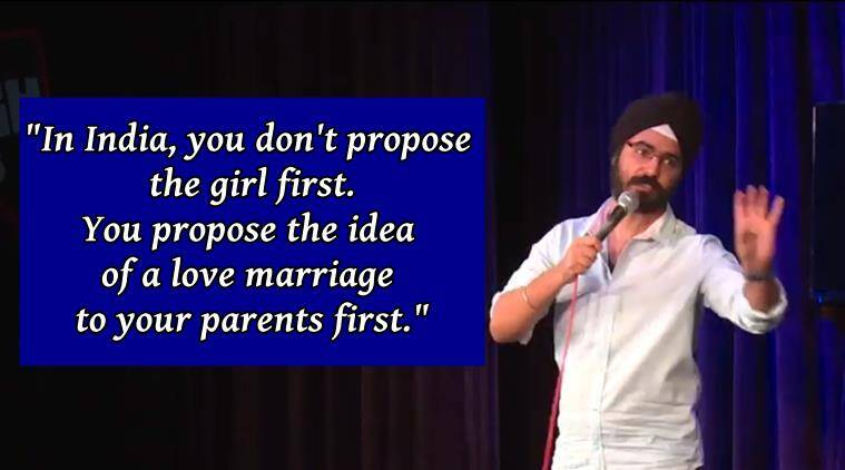 marriages in india, arranged marriages in india, comedian on love marriages in india, angad singh ranyal on love marriages in india, indian express, indian express