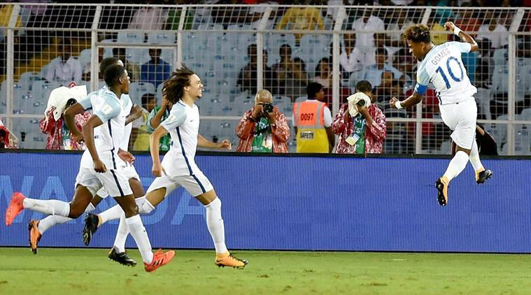 FIFA u 17 World Cup, FIFA U 17 WC, England u 17 team, Angel Gomes, England vs Chile, Football news, Indian Express