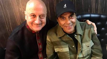 Anupam Kher: Dharmendra most charmingly genuine, see photos