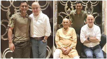 Ranchi Diaries actor Anupam Kher: Mahendra Singh Dhoni's daughter Ziva is a genius and an entertainer