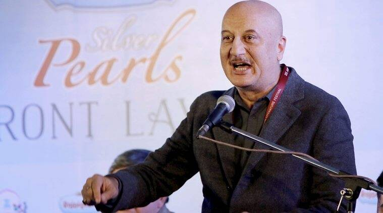 anupam kher, FTII, gajendra chauhan, anupam kher as FTII chairman, anupam's appointment as FTII chairman, twitter reactions, indian express, indian express news