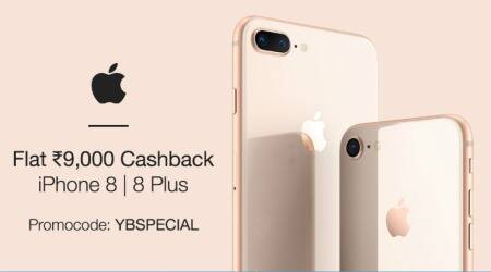 Apple, Apple iPhone Paytm Mall offer, iPhone 8 Paytm Mall cashback, Patym Mall iPhone cashback, Apple iPhone 8, Apple iPhone 8 Plus, iPhone 8 cashback, iPhone 8 Plus cashback, Paytm iPhone Diwali offer, Paytm offer