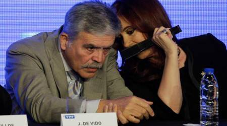 Argentina lawmaker accused of corruption, surrenders after losing immunity