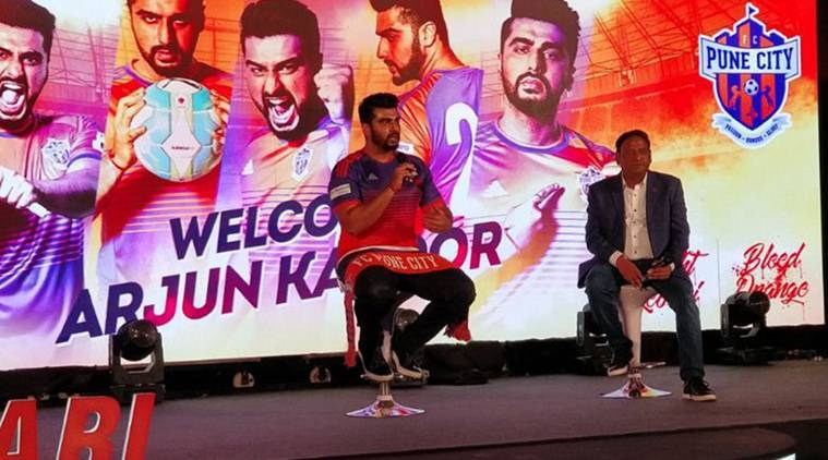 Indian Super League, FC Pune City, Arjun Kapoor, Football arjun kapoor