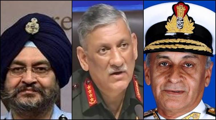 IAF chief says ready for two-front war: Here is what the chiefs of Army and Navy have said on Pakistan and China