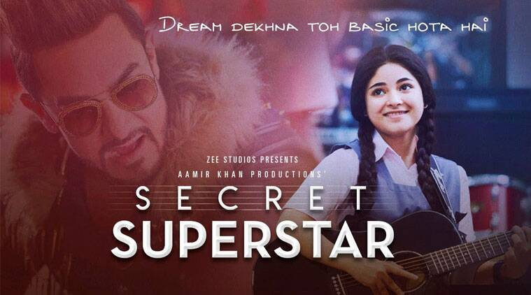 secret superstar, aamir khan, zaira wasim, Secret Superstar director, advait chauhan secret superstar, secret superstar reviews, aamir khan secret superstar, zaira wasim secret superstar, entertainment news, indian express, indian express news