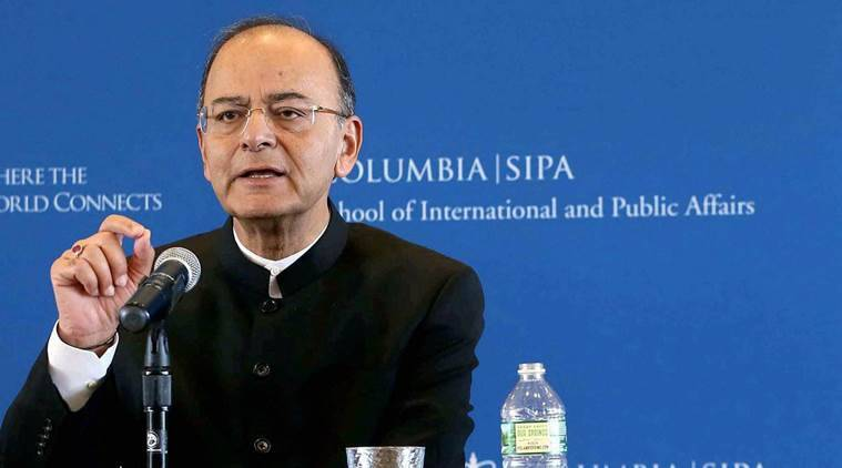 Arun Jaitley, Aadhaar, Right to Privacy, Supreme Court Privacy verdict, Jaitley Aadhaar, Jaitley Columbia, India news, Indian Express