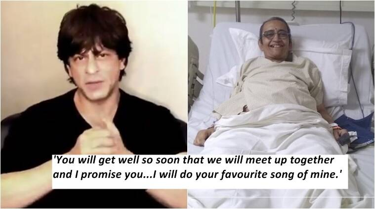 Twitter Helps A Fan Suffering From Cancer Meet Shah Rukh Khan