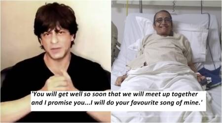 shahrukh khan, cancer patient, srk message for cancer patient, shahrukh khan's message for cancer patient, shahrukh khan's video for cancer patient, cancer patient's request for shahrukh khan, twitter reactions, indian express, indian express news