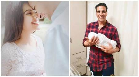 Photo: Akshay Kumar shares first picture of Asin and Rahul Sharma's baby girl