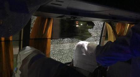 Assam Chief Minister Sonowal vows action after stone attack on Australian cricket team bus