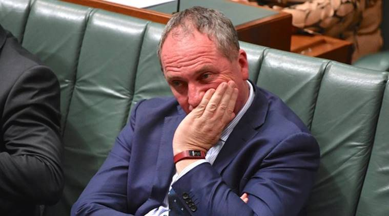 Australians want Deputy PM to resign over sex scandal-poll