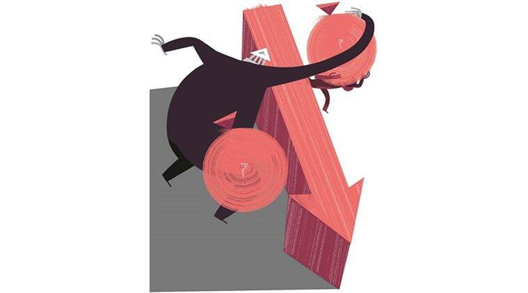 bad loans, NPAs, RBI, GDP growth rate, Indian economy, Indian express news