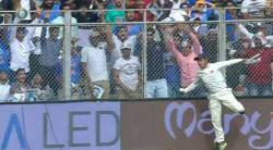 India vs New Zealand, Ball boy, Ball boy catch, Virat Kohli, sports news, cricket, Indian Express