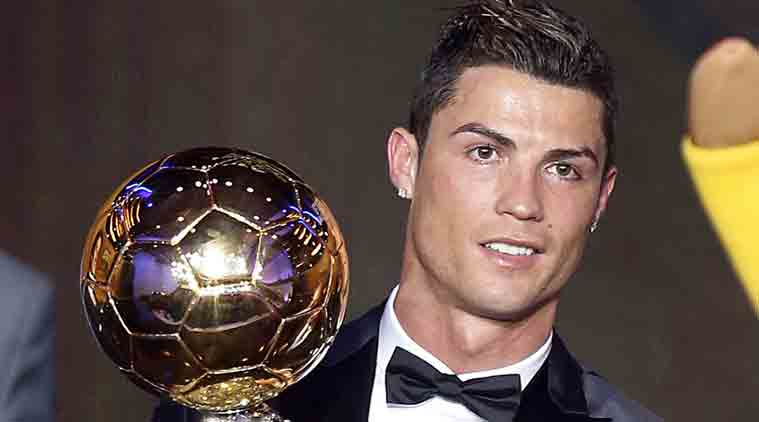 cristiano ronaldo ronaldo ronaldo ballon du0027or ballon du0027or charity  sc 1 st  The Indian Express & Cristiano Ronaldo sells Ballon du0027Or for £600000 at charity auction ...