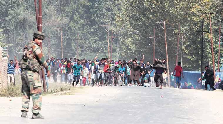 hajin, bandipora district, militants killed, jammu and kashmir, paribal, encounter, lashkar militants, india, live updates, indian express news