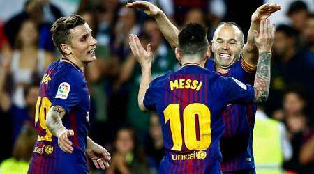 Barcelona, Malaga, La Liga, Catalonia, sports news, football, Indian Express