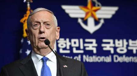 Jim Mattis warns that US 'will never accept a nuclear North Korea'