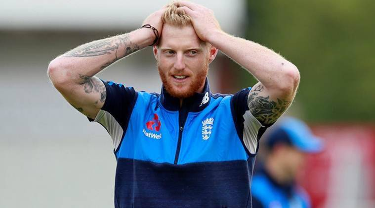 ben stokes was spotted at the Heathrow airport