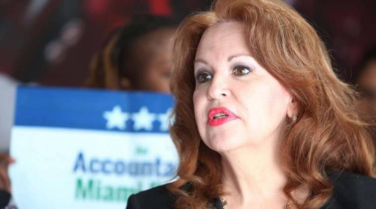 Bettina Rodriguez Aguilera, alien visits, alien, spaceship, us congress, us congress candidate, united states, us, world news, indian express news