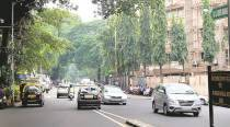 The road that links Malabar Hill to rest of Mumbai