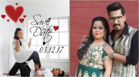 Bharti Singh, Haarsh Limbachiyaa announce their wedding date and we are crushing over the adorable photo