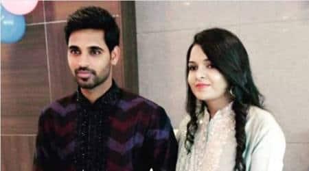 Bhuvneshwar Kumar shares emotional message on social media after getting engaged to NupurNagar