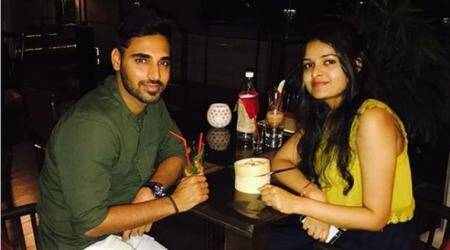 bhuvneshwar kumar, bhuvneshwar, bhuvneshwar kumar wife,