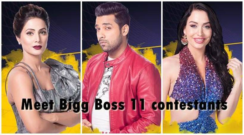 Bigg Boss 11: Full list of celebs, commoners and padosis who entered