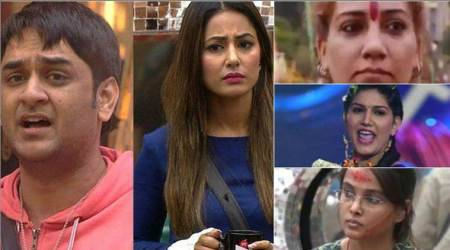 Bigg Boss 11: Will Hina Khan or Vikas Gupta get evicted or will a commoner leave the house? Cast your vote