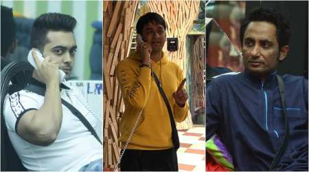 bigg boss, bigg boss 11, bigg boss 11 summary, bigg boss 11 october 2 episode summary, luv sinha, vikas gupta, zubair khan