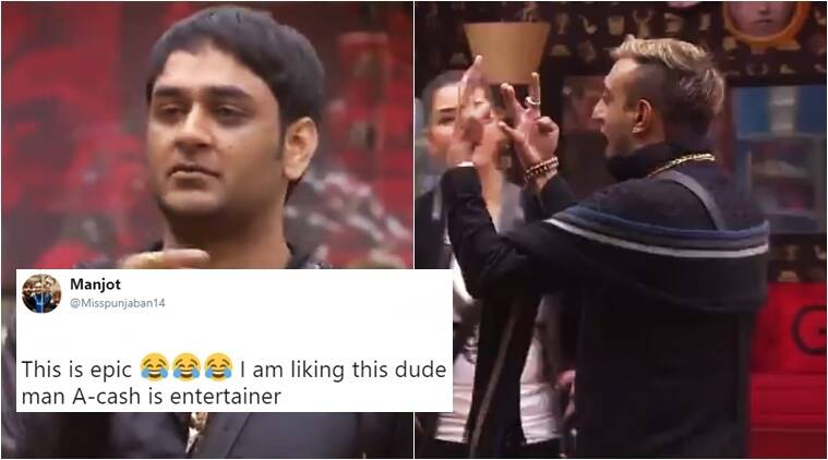 Bigg Boss Season 11 Twitterati Hail Akash An Entertainer After His Rap In Latest Episode Trending News The Indian Express