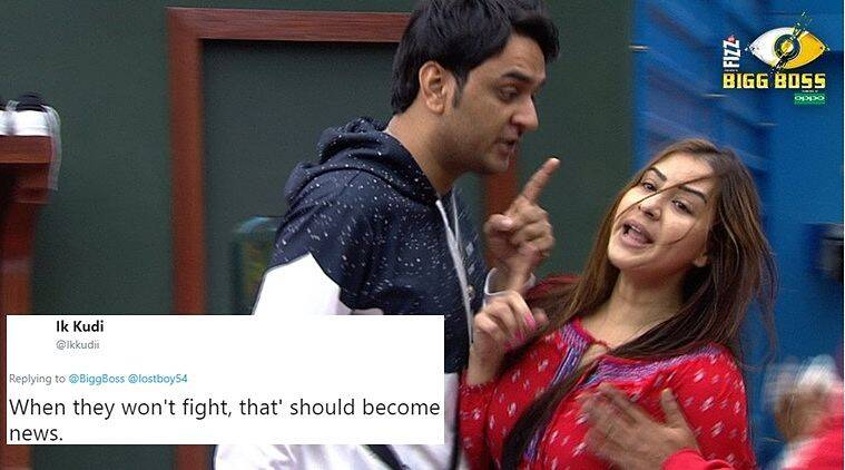 Bigg Boss Season 11 Shilpa S Fight With Vikas And Her New Found Friendship With Arshi Get Twitter Buzzing Trending News The Indian Express