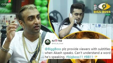 Bigg Boss Season 11: Episode 3 has got Twitterati confused over Akash's accent among otherthings