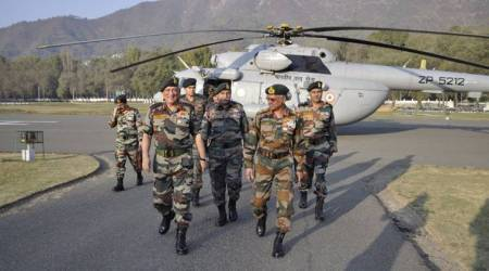 Army chief Bipin Rawat reviews security situation in Kashmir