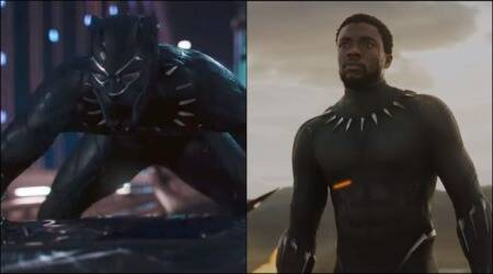 black panther, black panther trailer, black panther trailer still, black panther trailer release, black panther film trailer, black panther, entertainment news, indian express news
