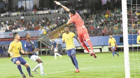 FIFA U-17 World Cup: Brazil make best out of their last 'home' game