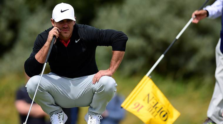 Brooks Koepka is tied in the lead with South Korean Lee Sang-hee for the first-round.