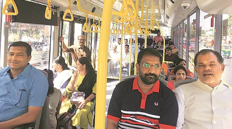 Bus Rapid Transit System, Pimpri-Chinchwad, Pimpri-Chinchwad Municipal Corporation, Mayor Nitin Kalje, Municipal Commissioner Shravan Hardikar, Pune news, National news, Latest news, National news