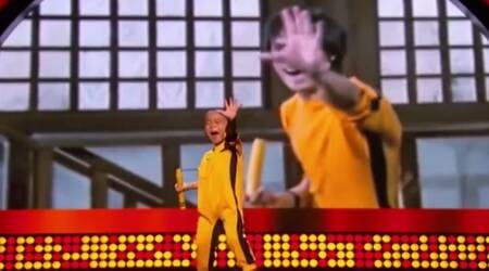 VIDEO: This little BRUCE LEE fan will stun you with hismoves