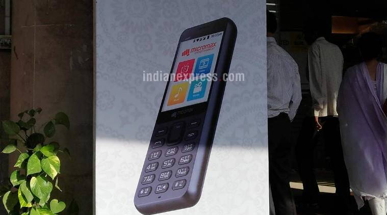 Micromax Launches Bharat-1 4G Feature Phone With BSNL At Rs 2200