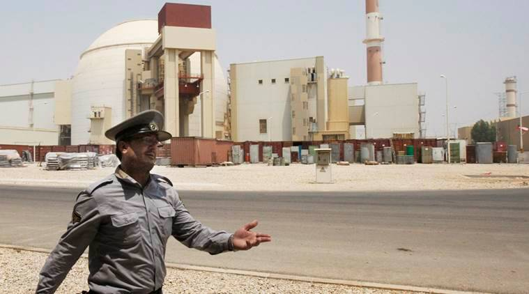 bushehr nuclear power plant iran, iran nuclear deal, us iran deal, us out of iran deal, indian express
