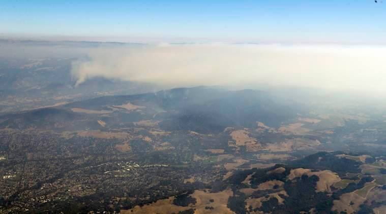 California wildfire, california fire, california wildfire deaths, Santa Rosa, Sonoma County, San Francisco, California news, indian express news
