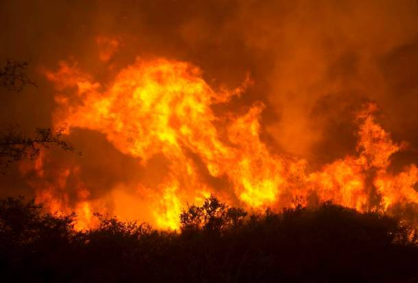 California wildfire: Must see photos of inferno turning forests into wasteland