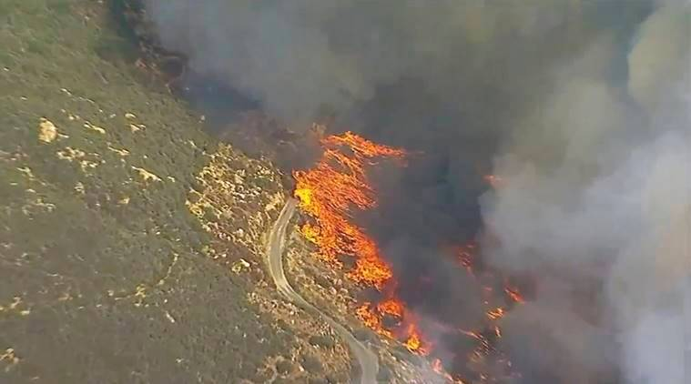 California, California wildfires, California officials, US wildfires, US officials, world news, indian express