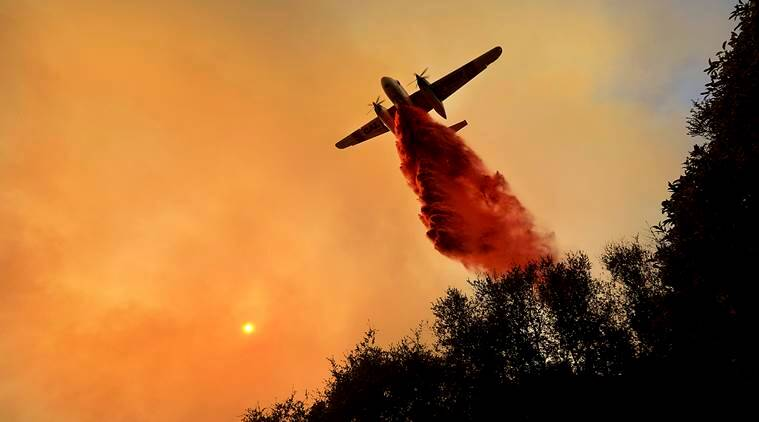 california wildfire, california fire photos, wildfire pics, california fire pics, wildfire images us, united states, california country wildfire images, cali fire pictures, what is california wildfire, indian express
